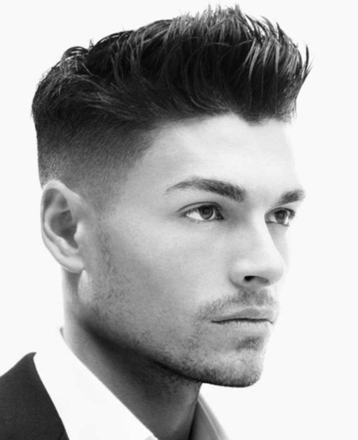 Coupe tendance cheveux court homme