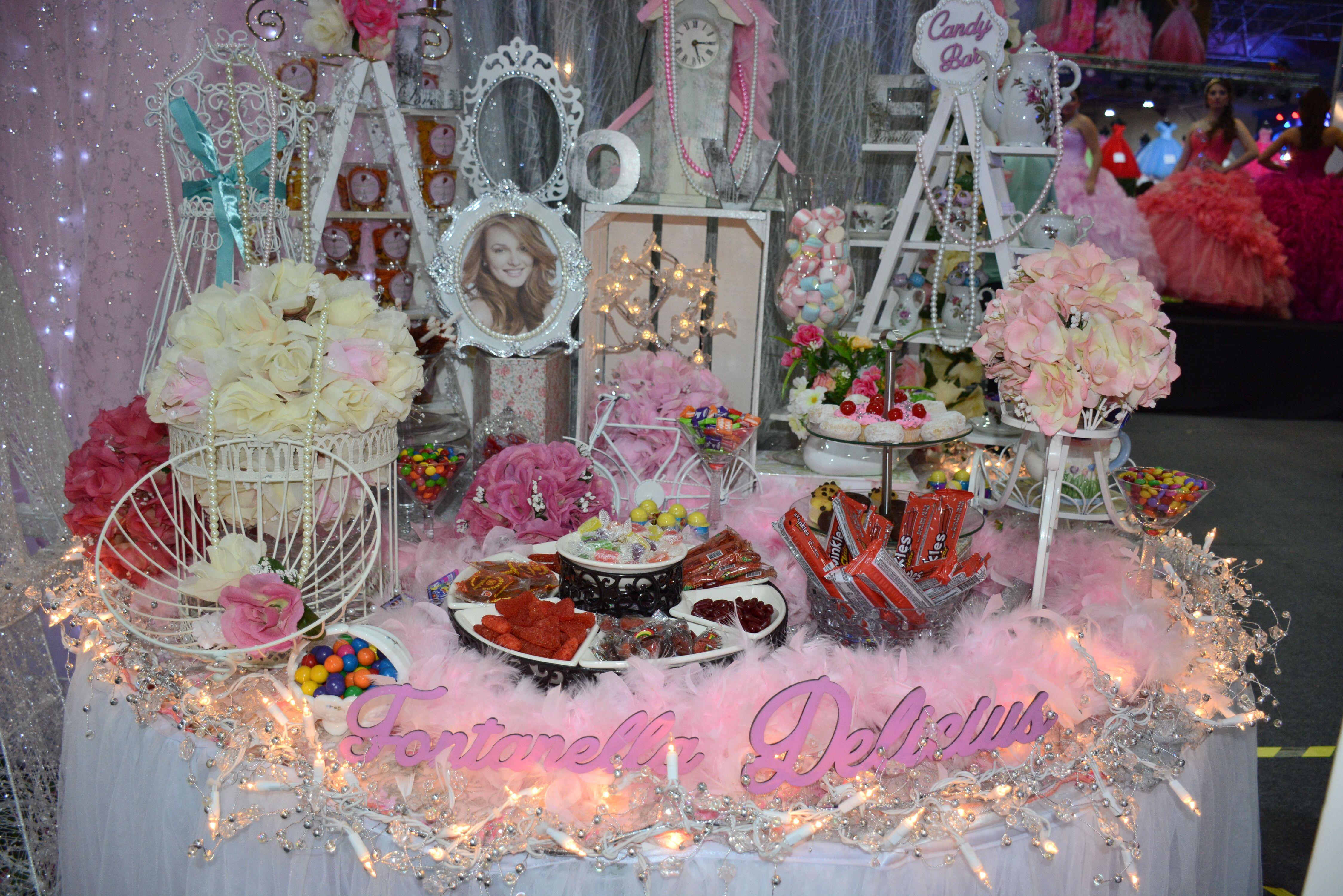 Mesa de Dulces para tu quince años #mesadedulces #quinceaños #quince #XV # quinceañera | Mesa de dulces, Dulces, Cumpleaños