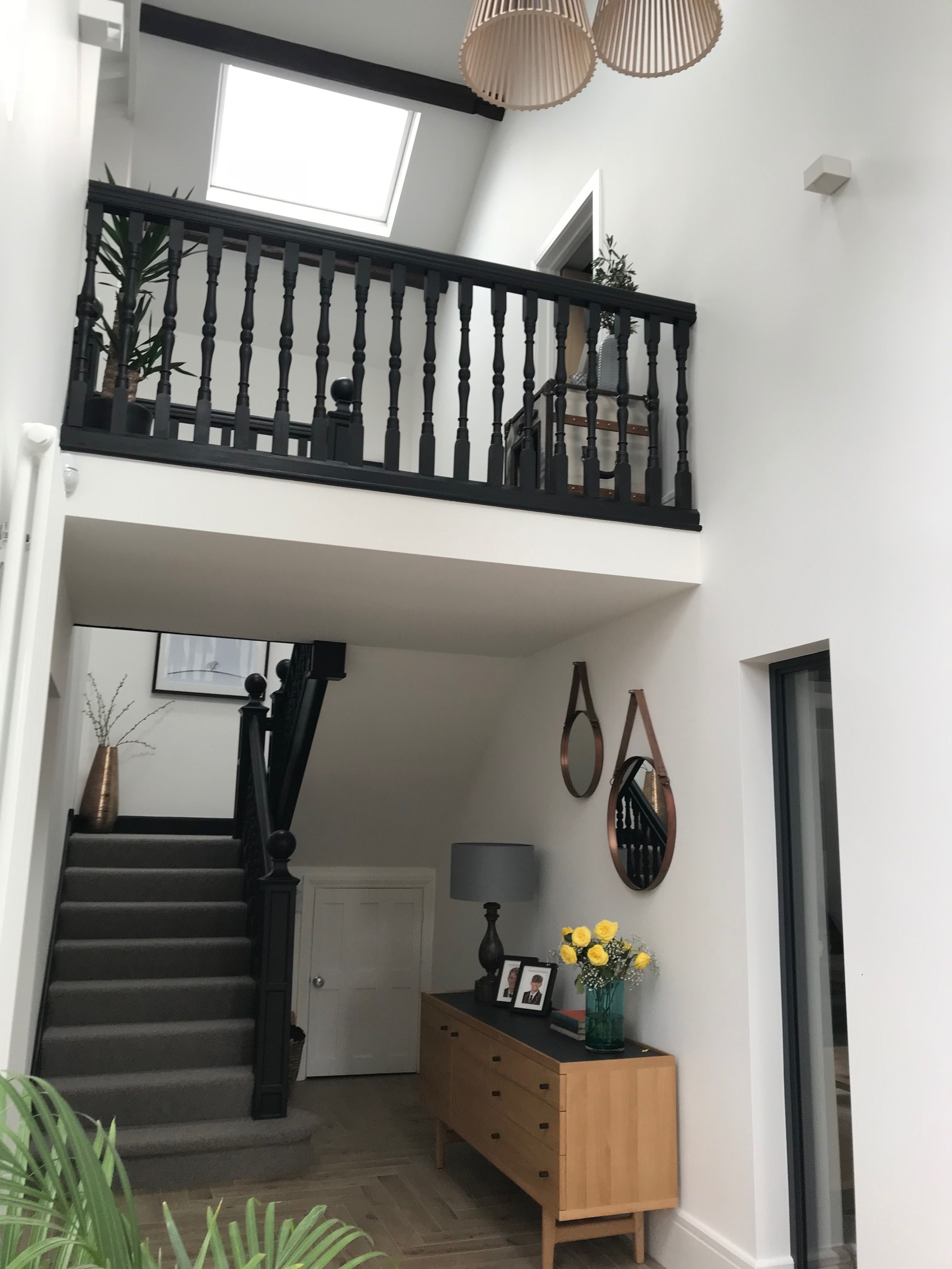 Barn staircase and balcony Staircase, Loft bed