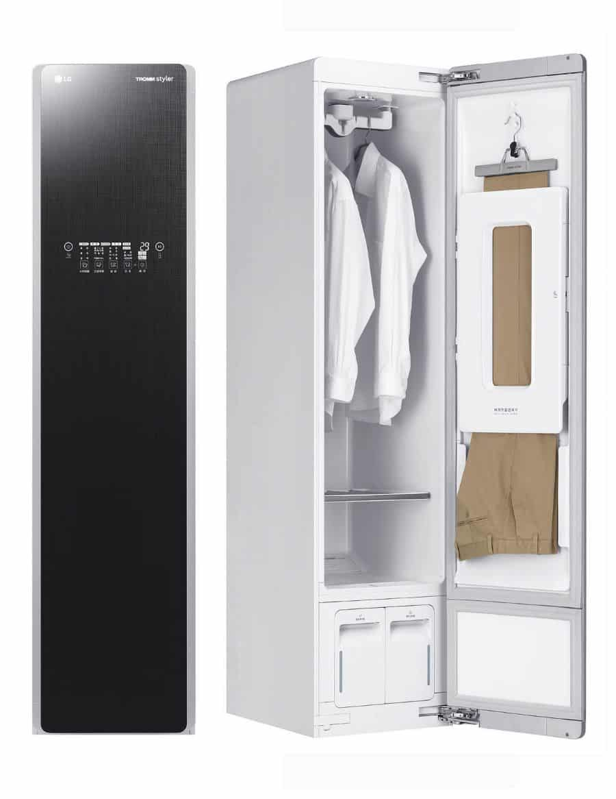 Lg Styler Steam Clothing Care System Reviews And Deals Clothes Steamer Clothing Care Small Laundry Rooms