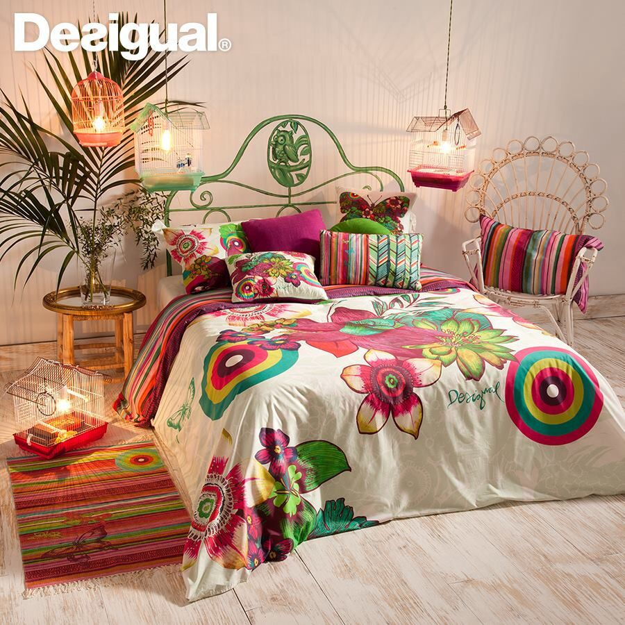 Pin by midorii tamura on desigual bedding pinterest home decor bedroom and home - Desigual home decor ...