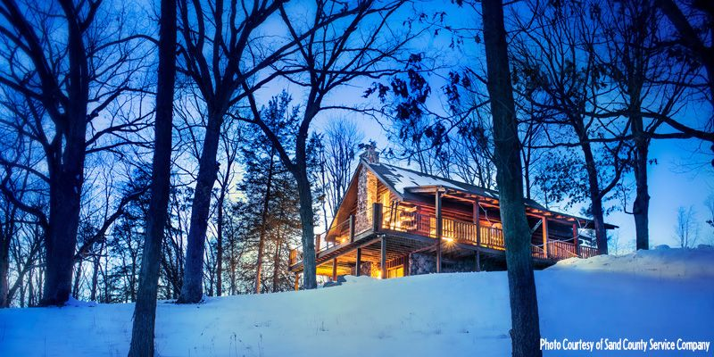 Winter Weekend Cabins Made Just For Two Romantic Winter Getaways