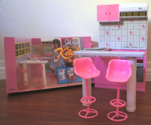 Gloria Doll Furniture Size Kitchen W Oven Sink Playset For Barbie | EBay