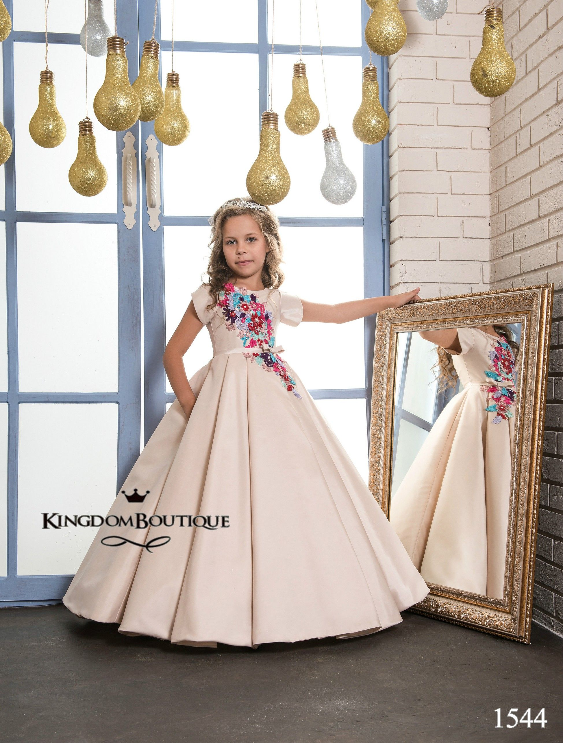 Cappuccino Kingdom Boutique children's gowns for special ...