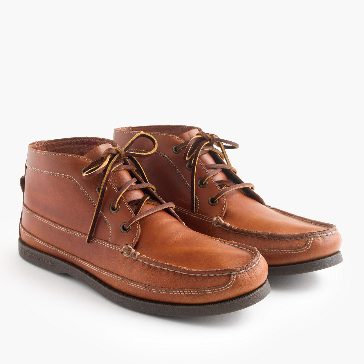 for J.Crew leather chukka boots