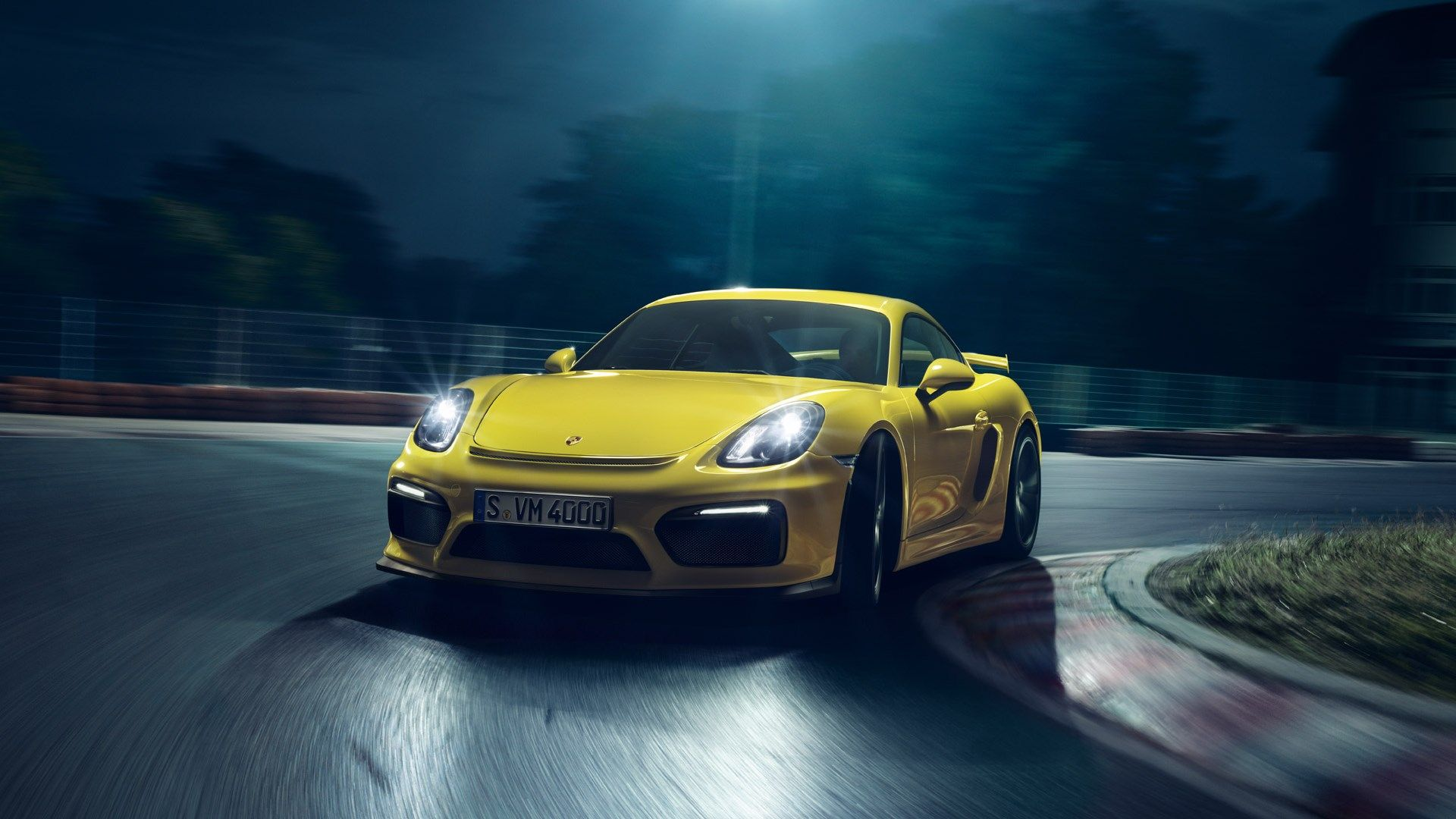 High Resolution Wallpapers Widescreen Porsche Cayman Gt4