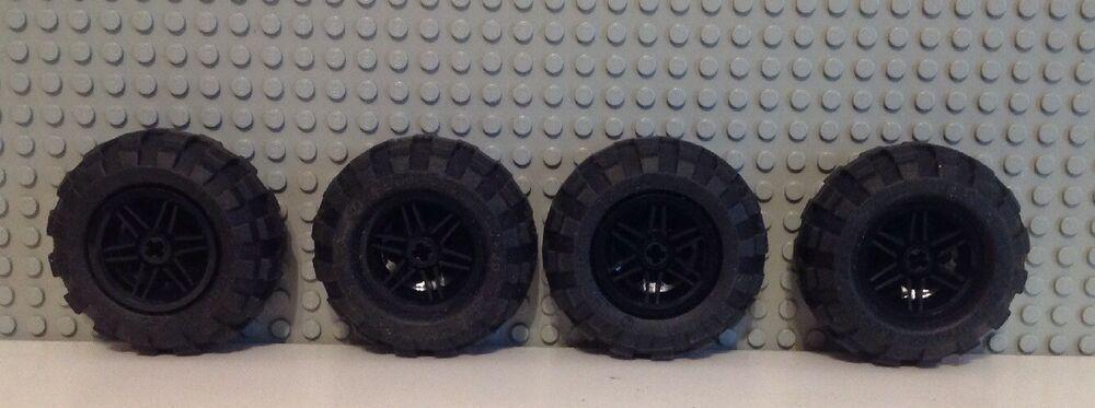 LEGO Technik 10 x Stein 1x2 schwarz mit 2 Löchern 32000 NEUWARE
