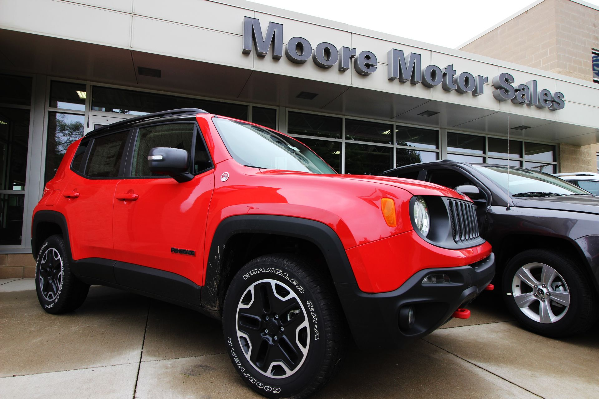 Colorado Red Jeep Renegade Trailhawk 4x4 Jeep Renegade Trailhawk