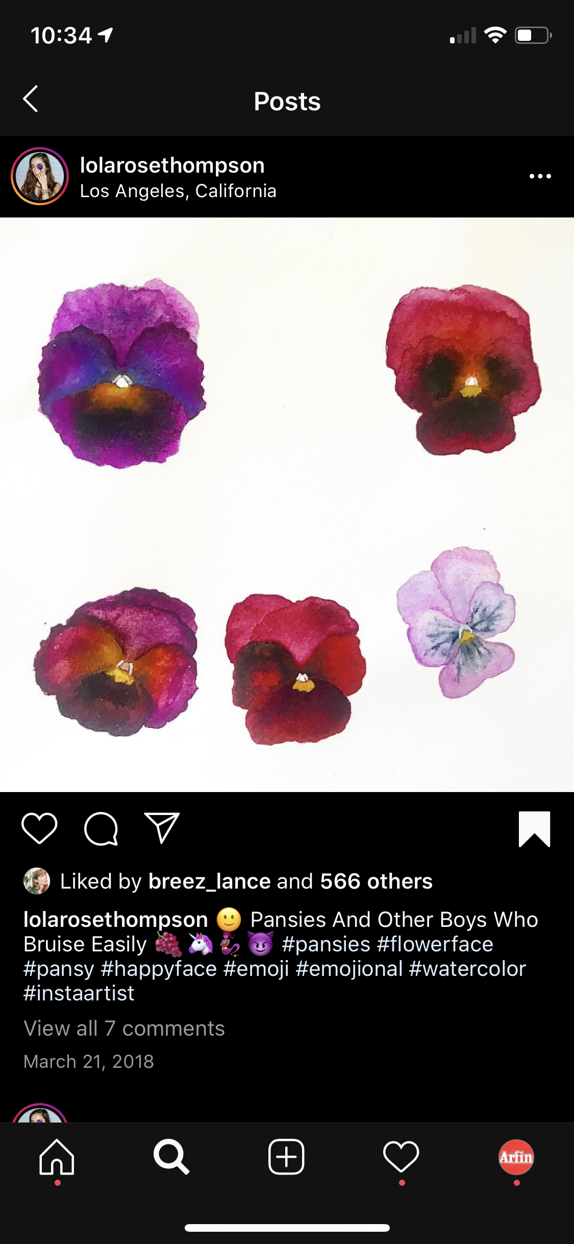 Pin By Lesley Arfin On Reference Pansies Bruises 10 Things