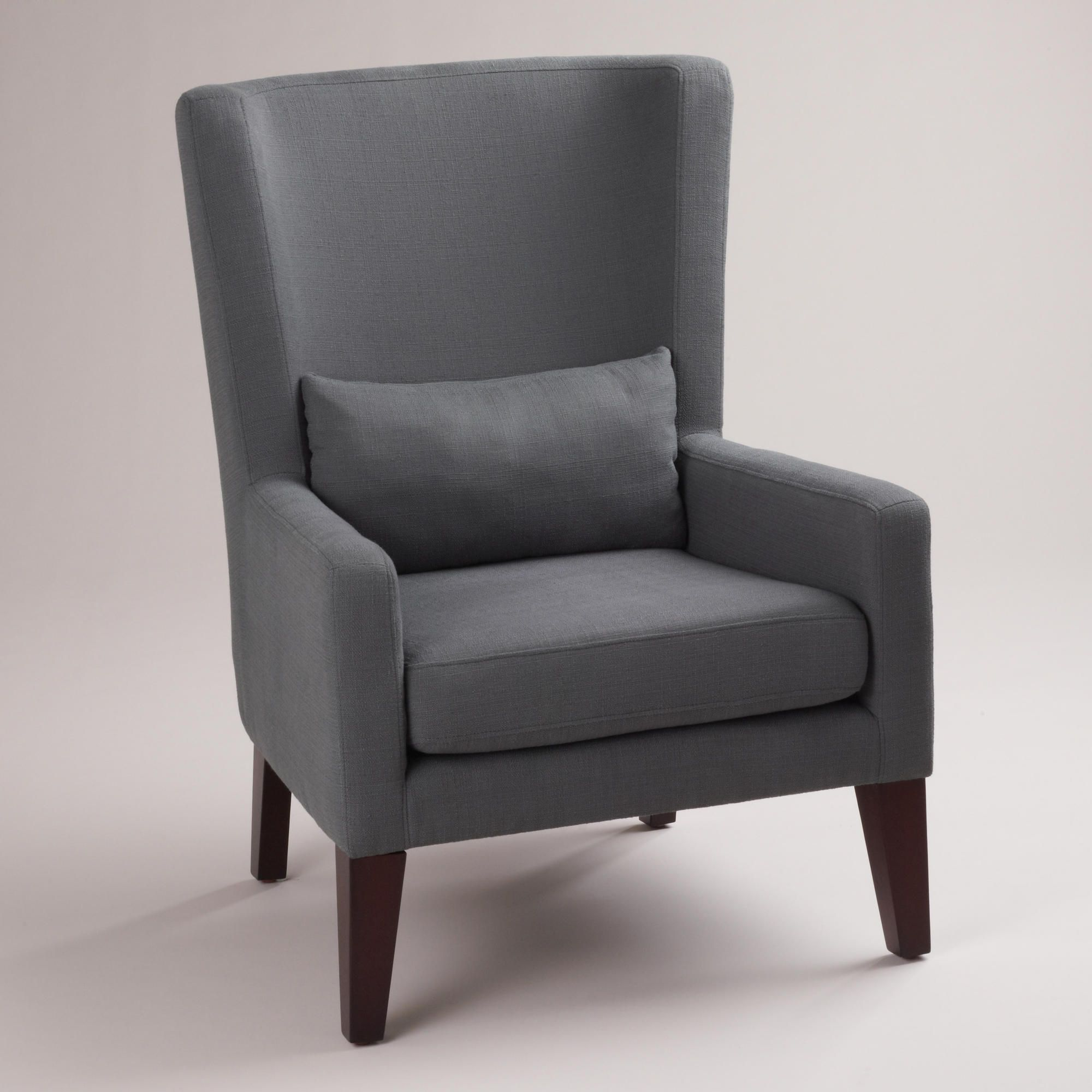 Good Guest Bedroom Dove Gray Triton High Back Chair