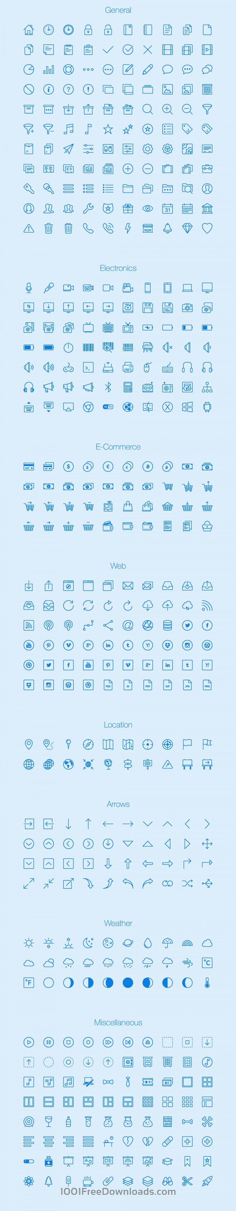 Free Vectors: Lynny Icons - Full | Icons