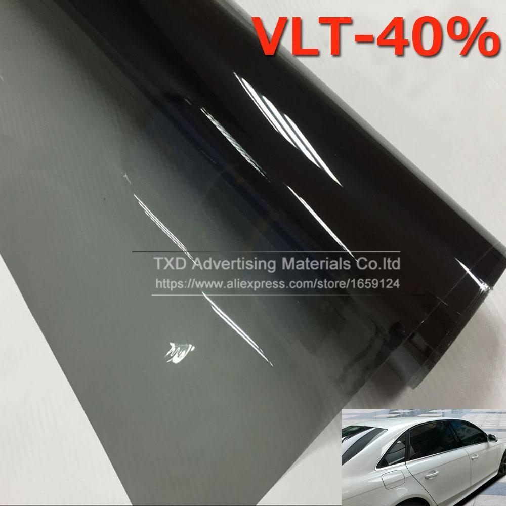 50 300cm Car Window Tint Tint Film Glass Vlt 40 Solar Uv