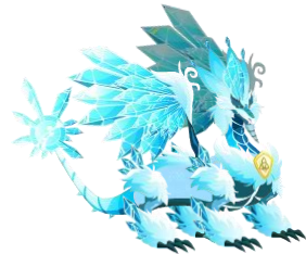 Pure Ice Dragon Dragon City Dragoes Dragon