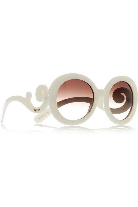 67c7bda3743f Prada Round-frame acetate sunglasses   SHADES of Grey   Prada ...
