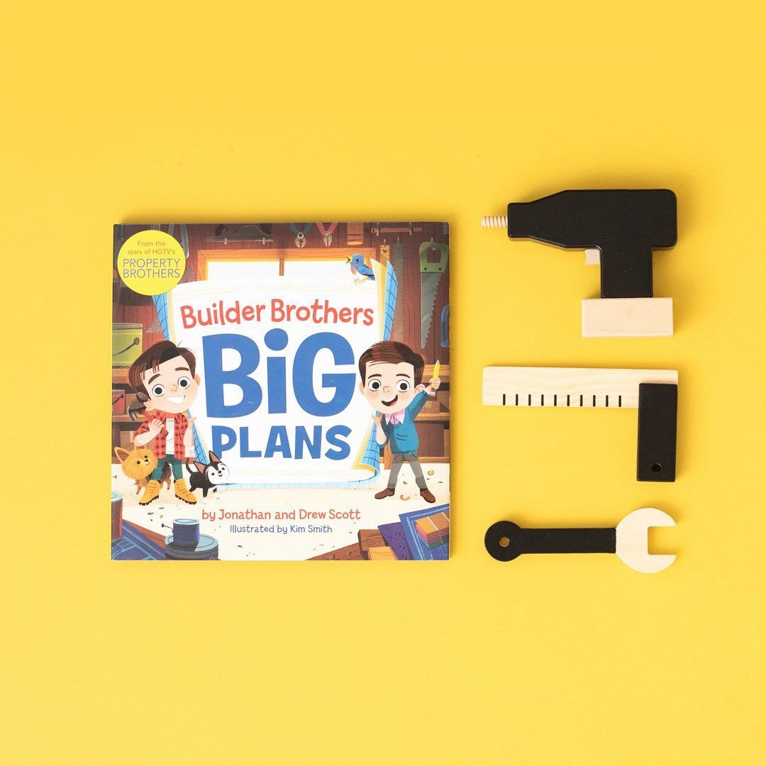 Builder Brothers Big Plans Drew Scott Hardcover How To Plan Book Lovers Brother
