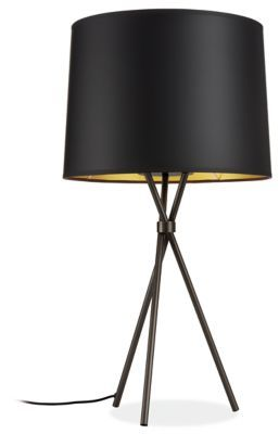 Tri Plex Modern Table Lamp Table Lamps Modern Lighting In 2020