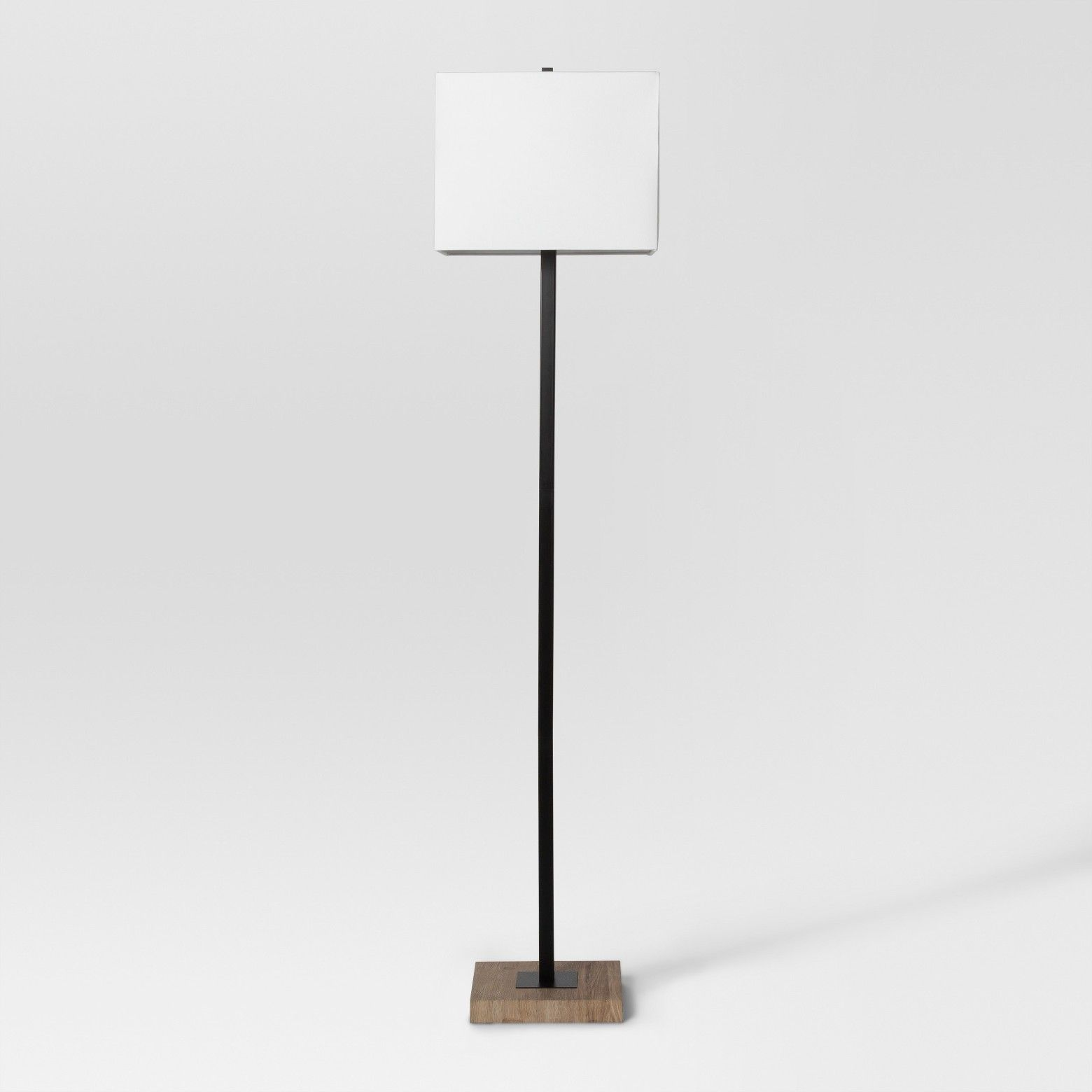 Modern Wood Square Floor Lamp Black Includes Cfl Light Bulb Project 62 Square Floor Lamp Target Floor Lamps Black Floor Lamp