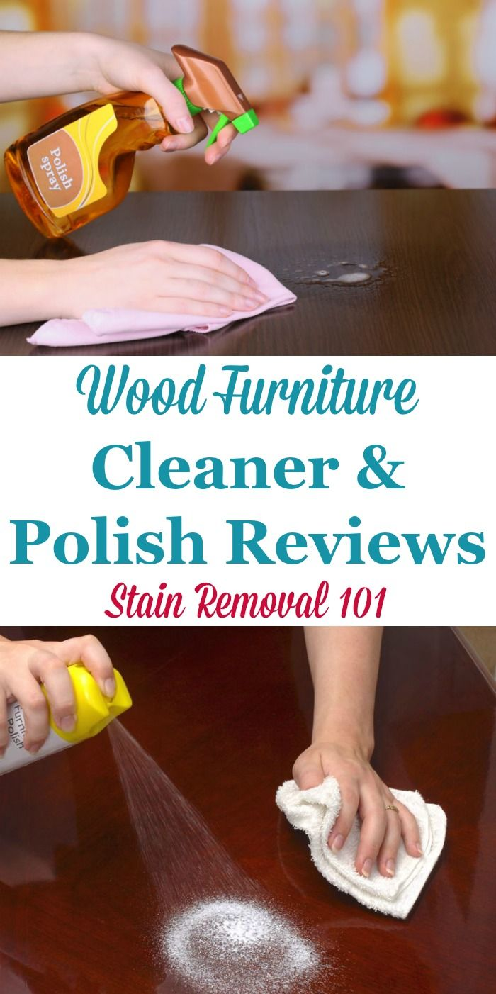 Here is a round up of wood furniture cleaner and polish reviews to find out which products work best to make your wooden furniture look its best