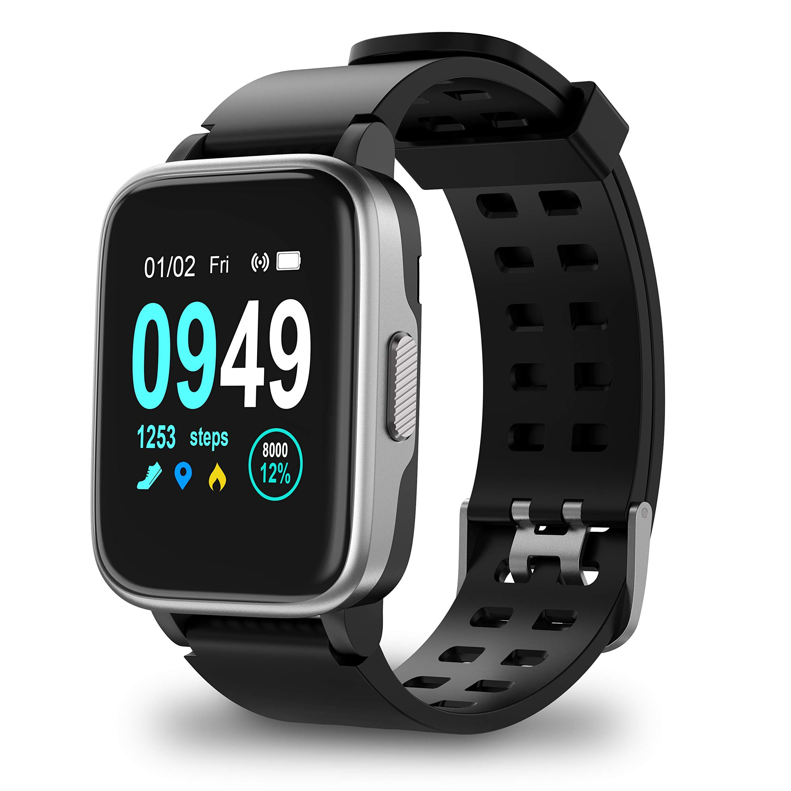Updated 2019 Version Smart Watch for Android iOS Phone