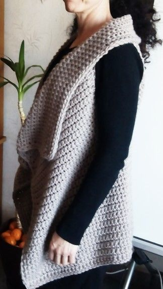 Hecho a mano Fashion chaleco tejido con lana virgen bd9f76961cfd