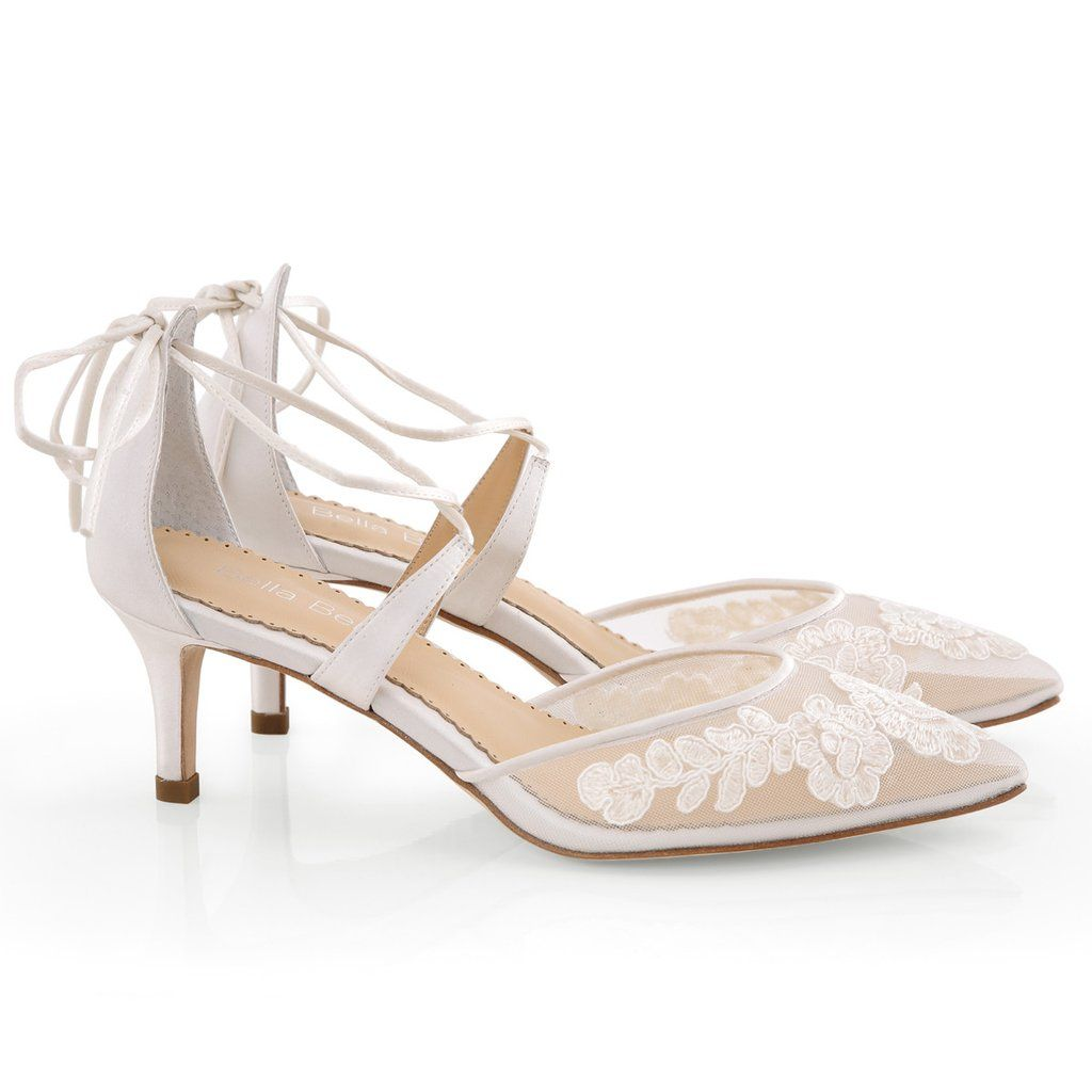 771da4edb Lace Wedding Shoes designed by Bella Belle Shoes. Amelia, 2 1/2