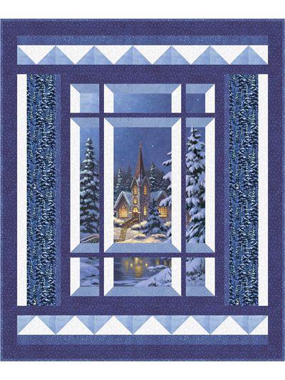 Modern Window Silent Night Pattern | Panel ideas | Pinterest ...