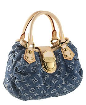 4153a572e Weekend Bags: Designer Denim | mom fashion | Louis vuitton, Vuitton ...