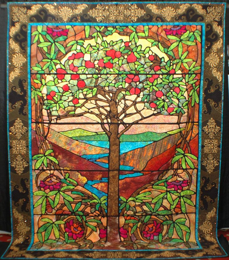 Tree of Life Quilt | TREE OF LIFE by Mark Sherman of Coral Springs ... : quilt life - Adamdwight.com