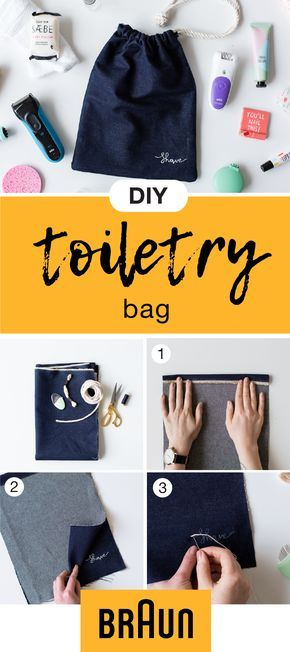 Planning a trip with your significant other this summer? Make sure you're both prepared with all the essentials you'll need by taking inspiration from this DIY Unisex Toiletry Bag. From checking out this easy craft to both traveling with your Braun Electric Shavers, you'll be ready to enjoy your vacation thanks to smooth skin in no time. And with high-end technology and top-rated reviews, you can be sure you're packing products you can trust.
