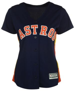 Majestic Women s Houston Astros Cool Base Jersey - Blue XXL db8f9acb0