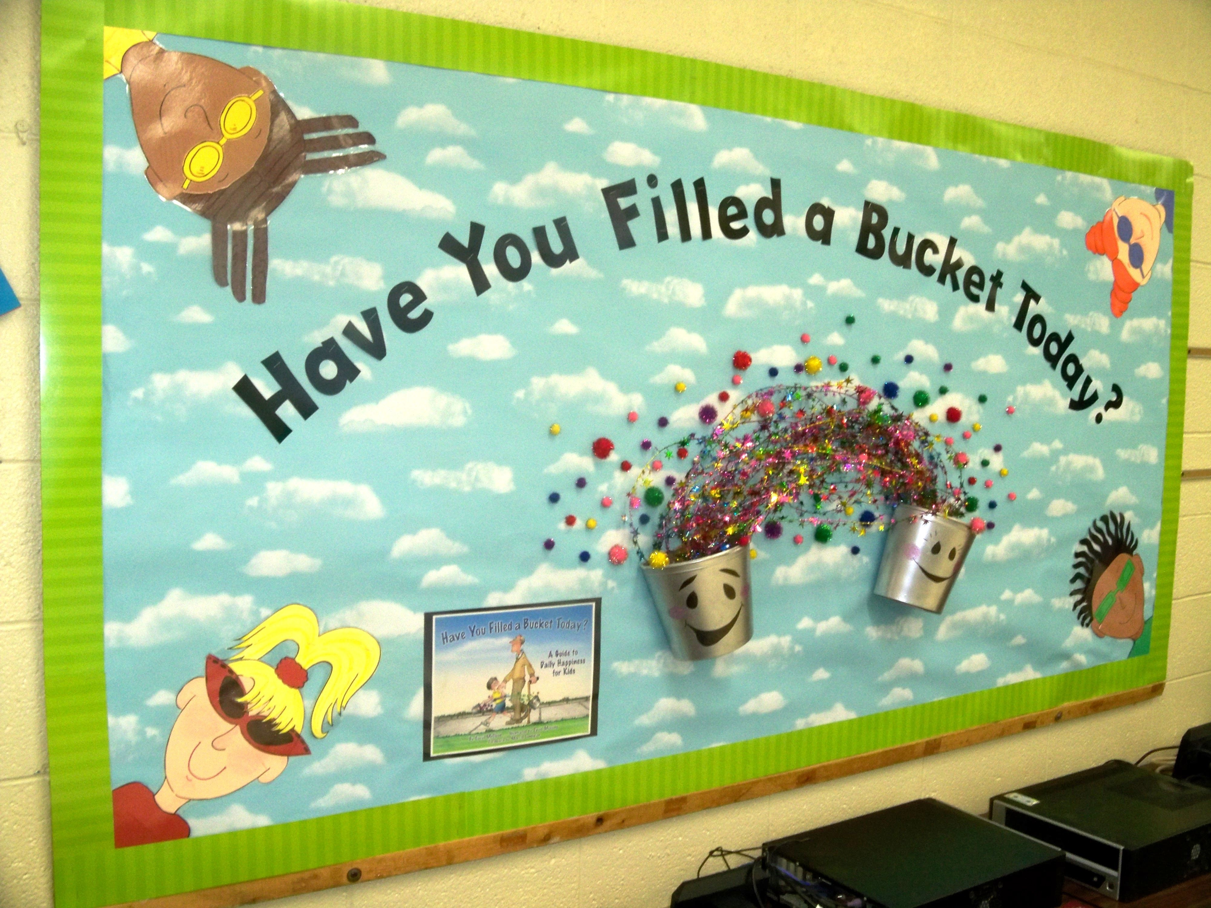 Bucket Filling Bulletin Board