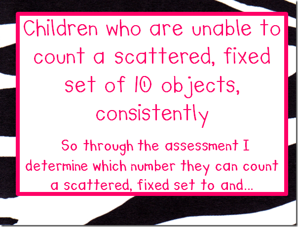 Excellent idea for teaching number recognition!