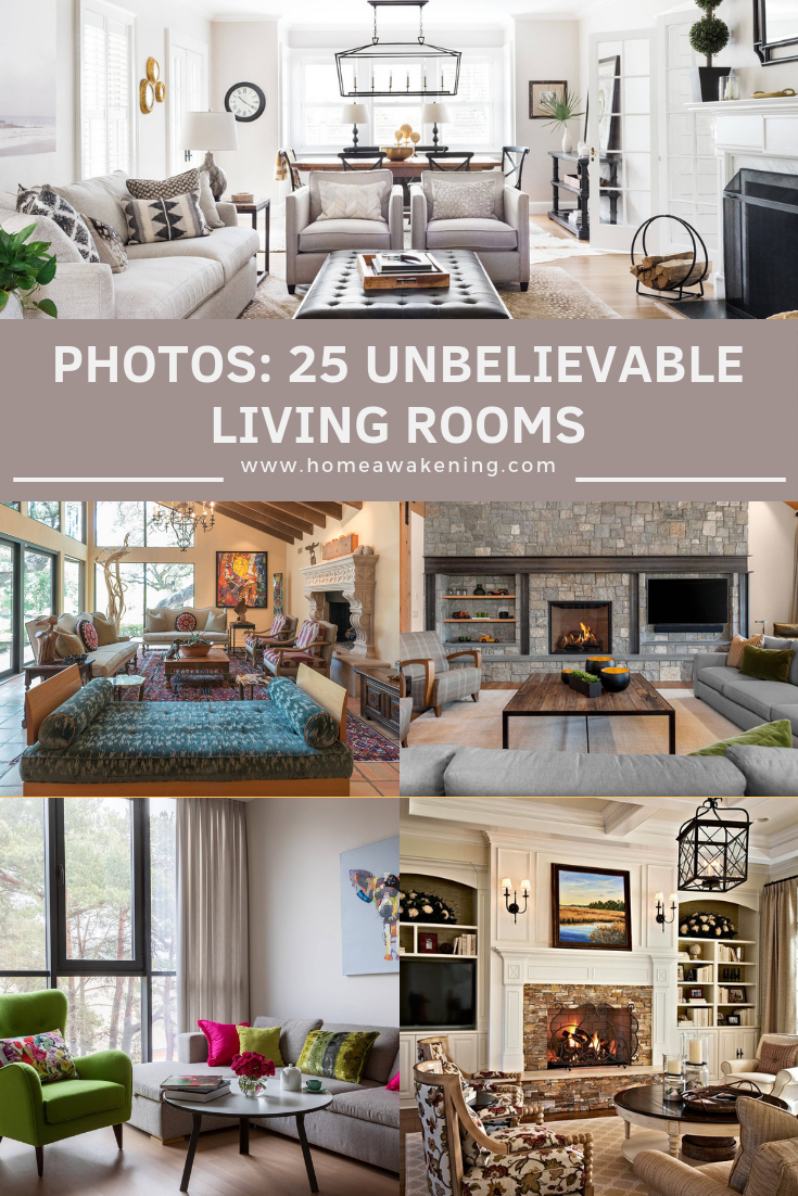 25 Awesome Living Room Design Ideas On A Budget: 25 Unbelievably Awesome Living Rooms