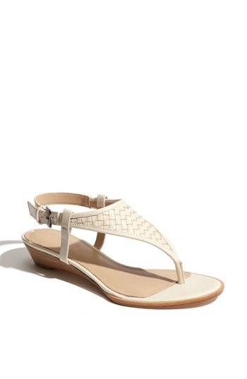 my kind of summer shoe...black or tan.  Via Spiga Halo Sandal...with a fresh pedi and tan feet...HOT!
