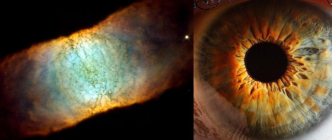 Human Eye and Nebula (page 2) - Pics about space