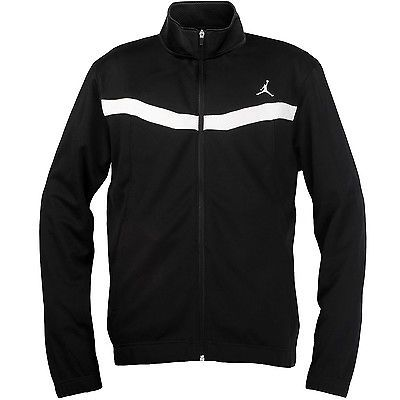 Jordan Prime. Fly Jacket Mens BlackWhite 547631 011 Coats