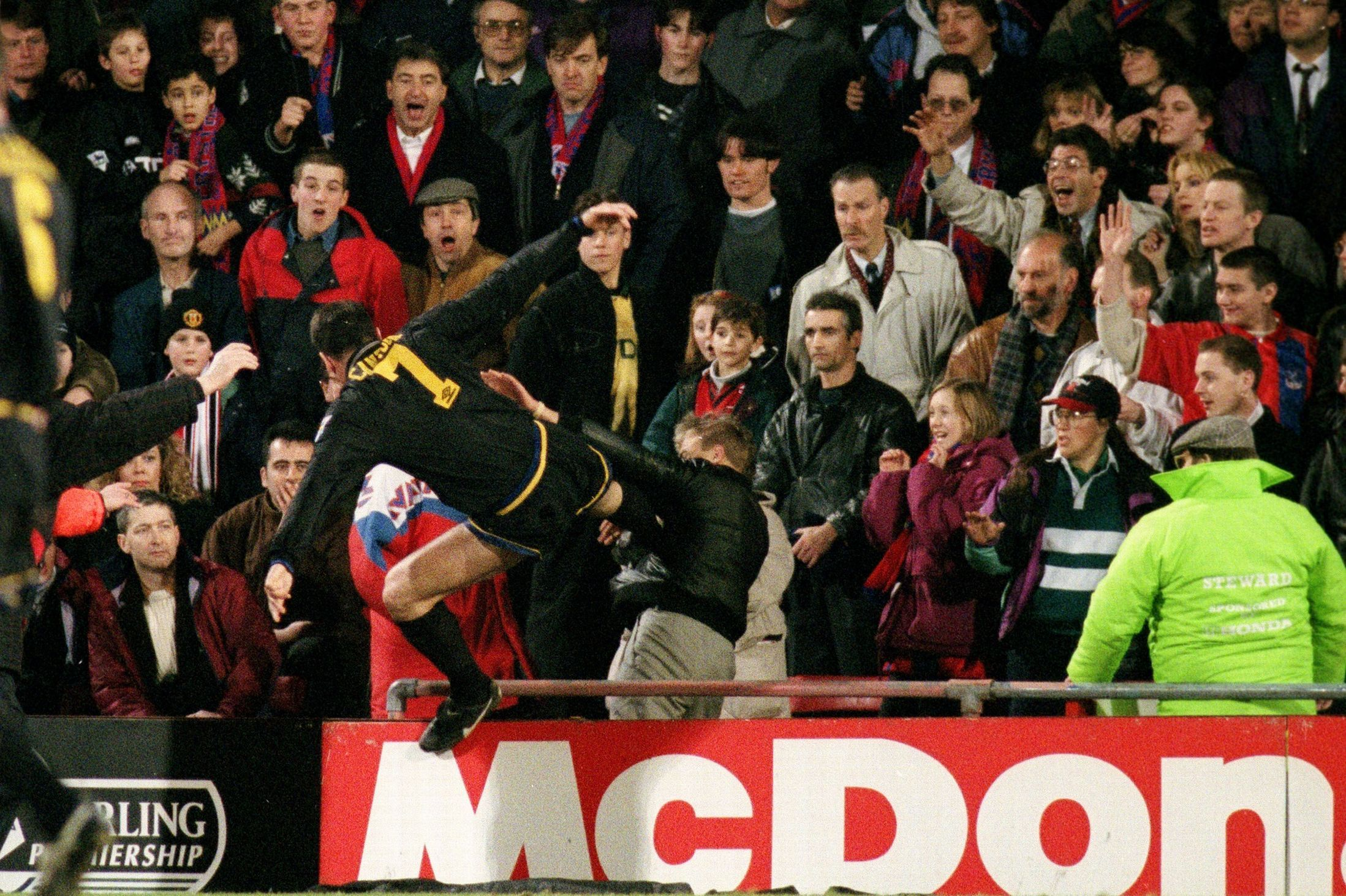 Pallister Fergie Never Lost It With Cantona Not Even At