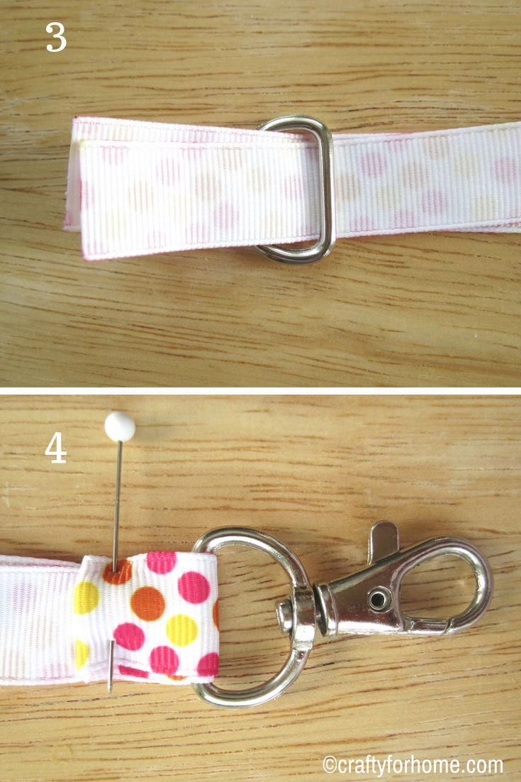 Easy Ribbon Lanyard