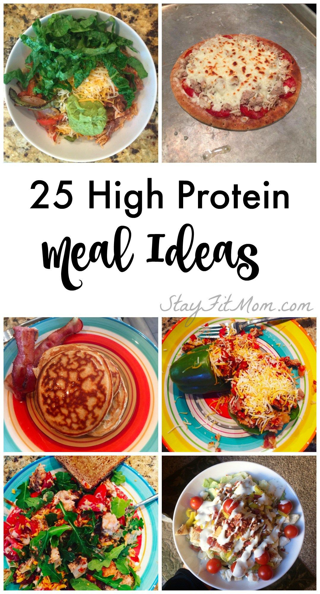 25 easy high protein meal ideas high protein meals high protein 25 easy high protein meal ideas stay fit mom forumfinder Choice Image