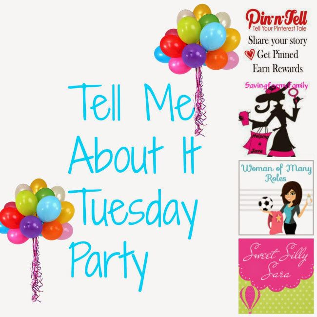 Tell Me About It Tuesday {6-10-14} | Pin-n-Tell