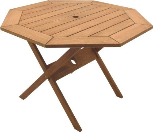 amazonia octogonal eucalyptus folding table check this out at rh za pinterest com