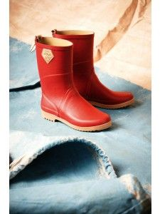 Aigle Chanteboot 160 Ruby | Natural Handcrafted Rubber Boots