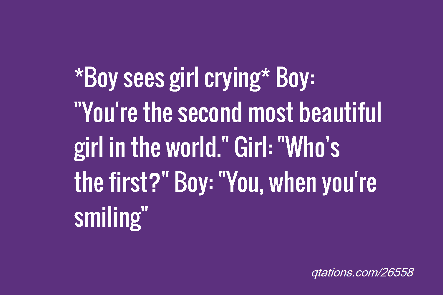 You Are The Most Beautiful Girl Quotes. QuotesGram | Christina