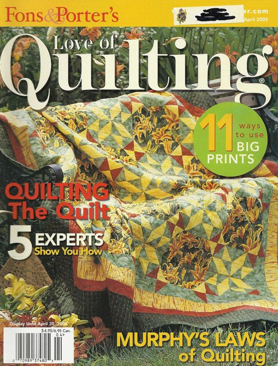 Fons and Porter Love of Quilting Magazine by AnnesAccumulations