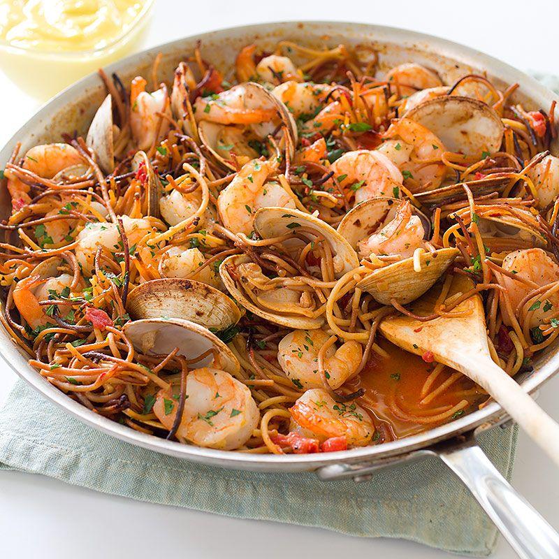 Recipes of spanish pasta
