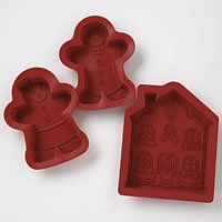 Roshco Create N Celebrate Ginger Bread Village Silicone Baking Set * Startling review available here at : bakeware