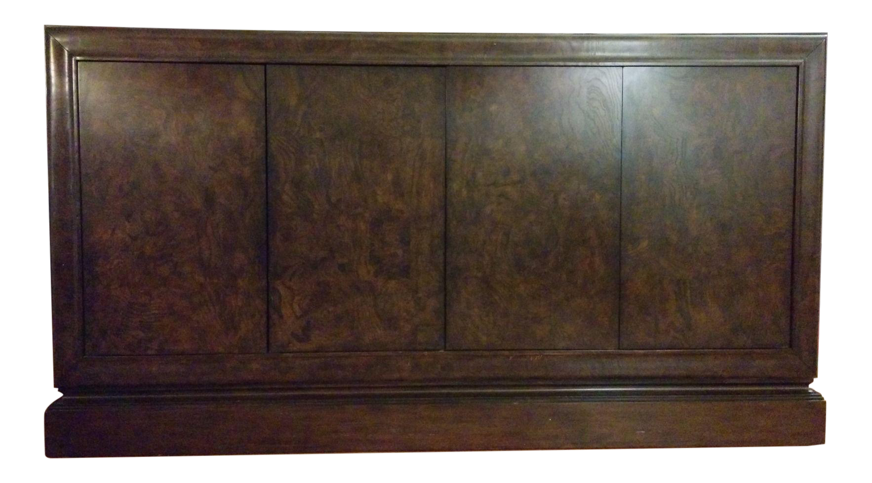 Ethan Allen Burl Veneer Solid Wood Buffet Cabinet. Ethan Allen Dining Room  Or Entrance Cabinet