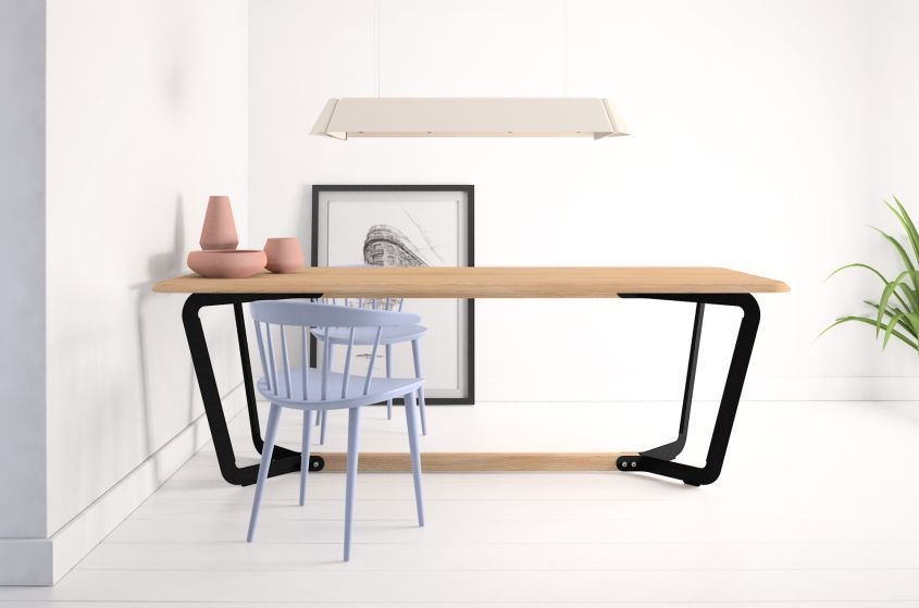 Basvelle Koop S Stringer Table Is Ideal For Living And Working