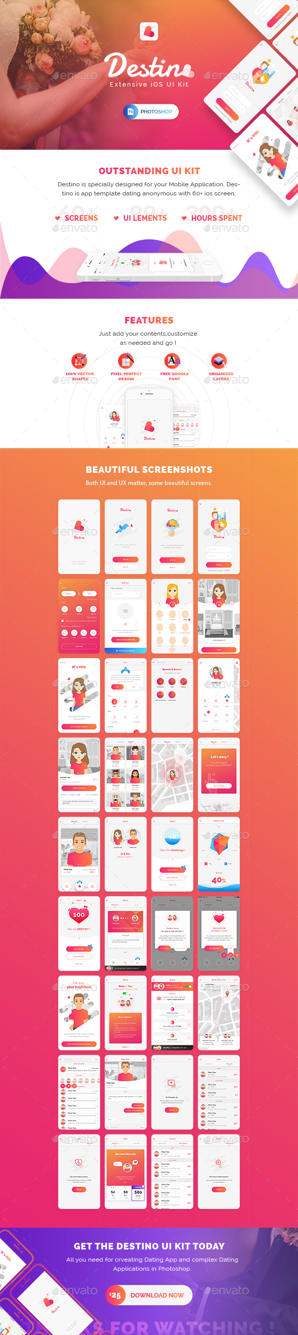 Destino App Ui Kit - User Interfaces Web Elements  Design  Ui Kit, App Ui, App Design-9896