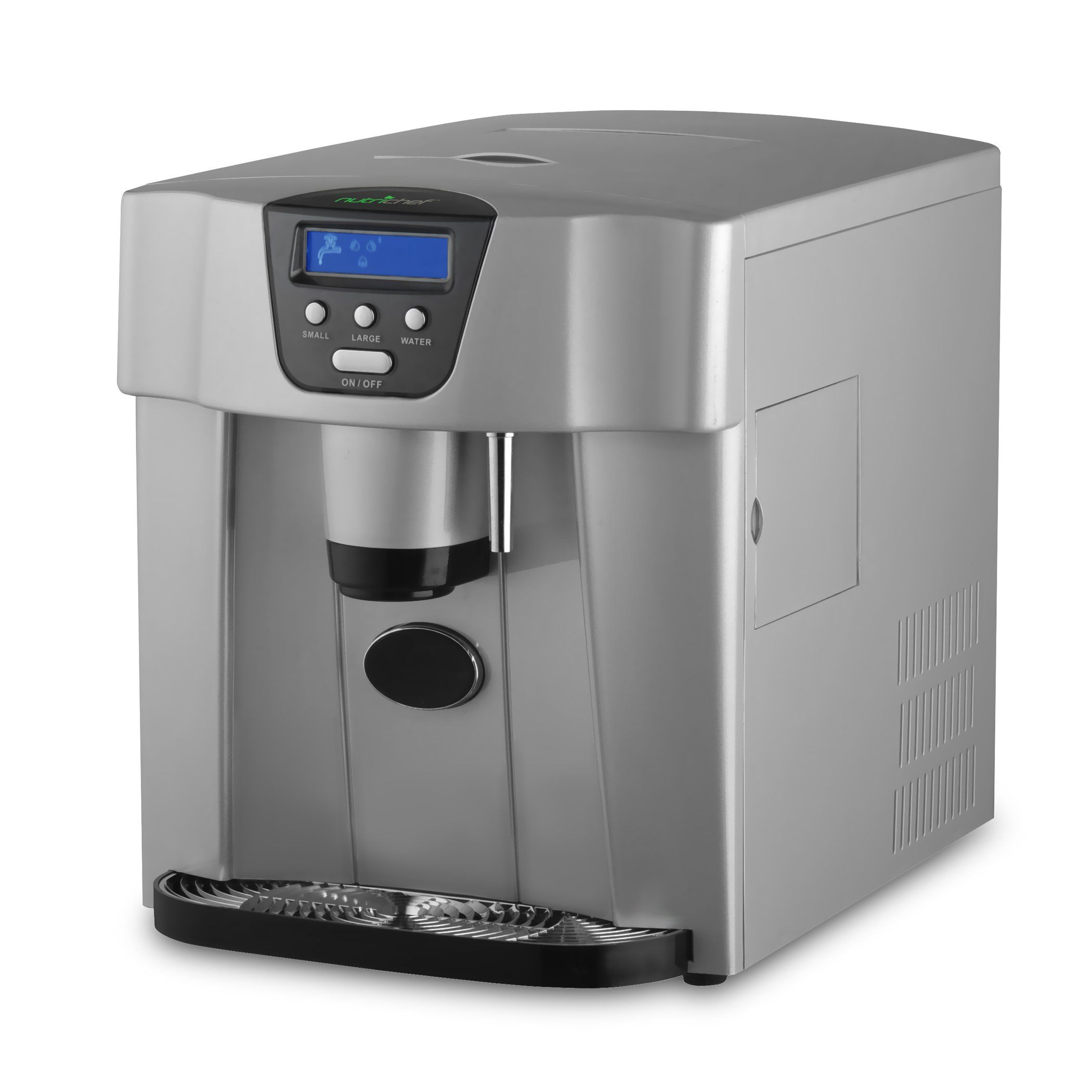 Nutrichef Picem750 Stainless Steel Ice Maker Dispenser Ice